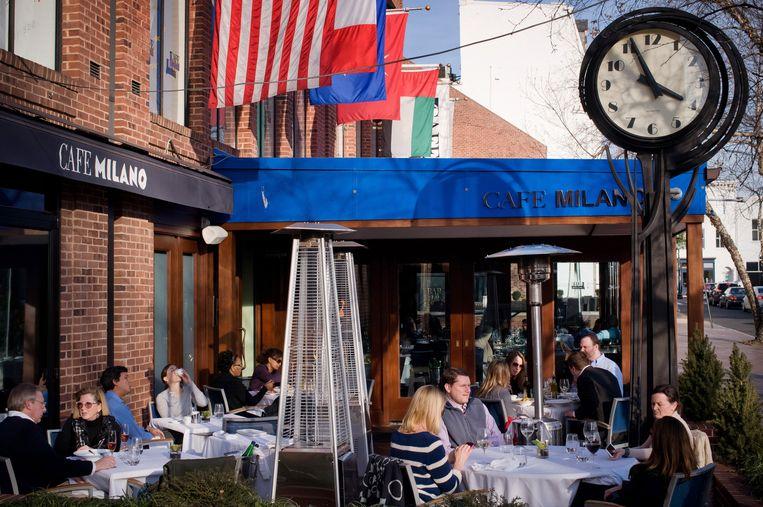 Café Milano. Beeld Bill Crandall