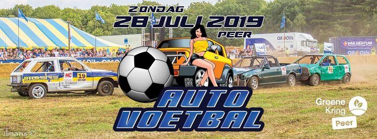 Auto Voetbal Peer