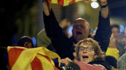 Catalanen houden Felipe wakker met nachtelijk lawaaiprotest