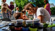 Waasmunsteraars vieren Vlaamse Feestdag op parking Gentstraat