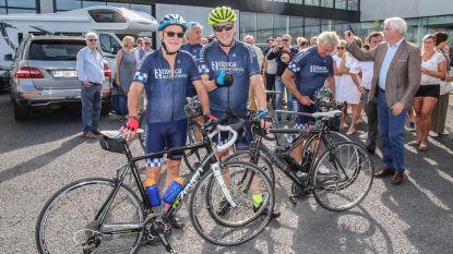 Duo vertrekt per fiets naar Compostela