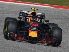 Bekijk hier hoe Max Verstappen naar de tweede plaats snelt in Austin