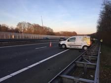 Gewonde bij ongeluk op A28 bij Harderwijk