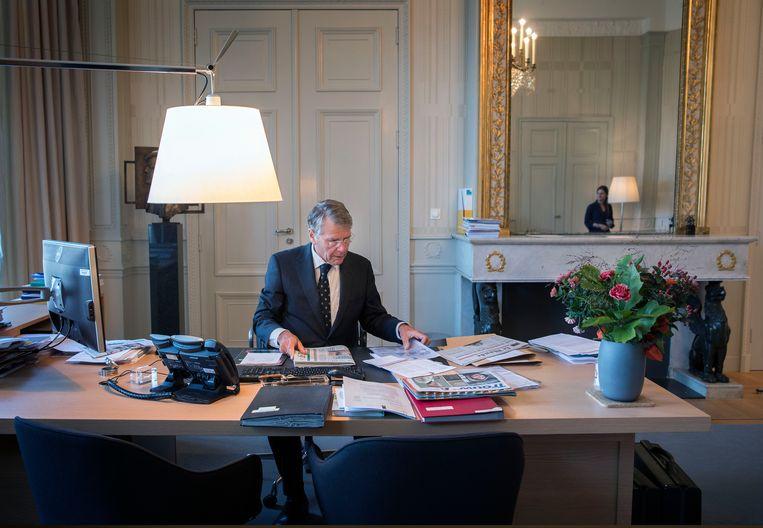 Piet Hein Donner nam vorig jaar afscheid bij de Raad van State, en gaat nu de belastingdienst onderzoeken  Beeld Werry Crone