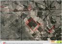Een luchtfoto uit 1944 van de Vlagheide tussen Schijndel en Eerde die door Bodac wordt gebruikt voor onderzoek naar niet gesprongen explosieven.