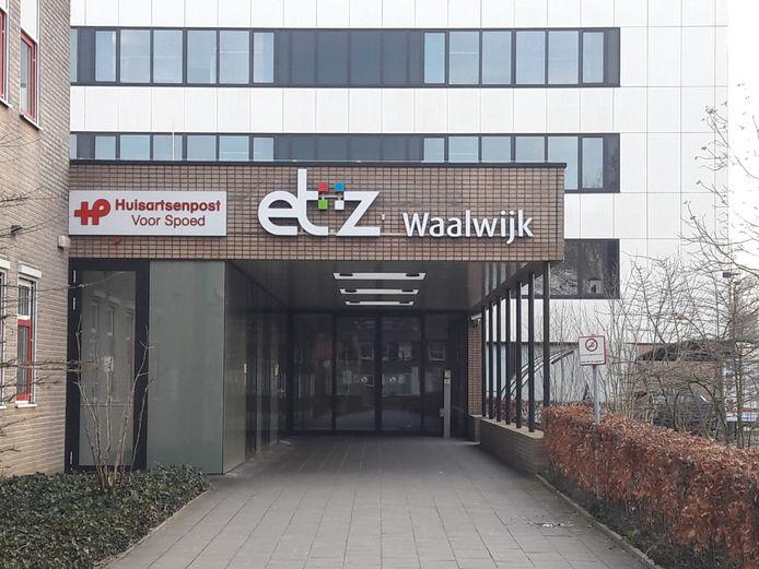 De huisartsenpost bij het ziekenhuis in Waalwijk.