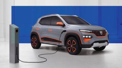 Elektrische Dacia Spring raakt 200 kilometer ver, kost weinig en komt volgend jaar op de markt