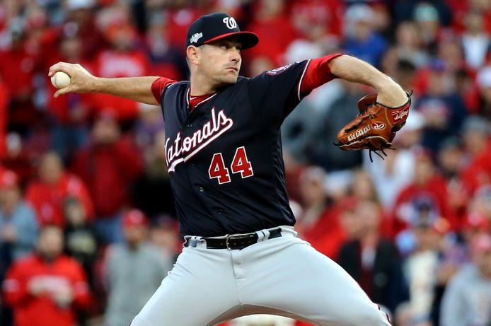 Daniel Hudson van de Washington Nationals.