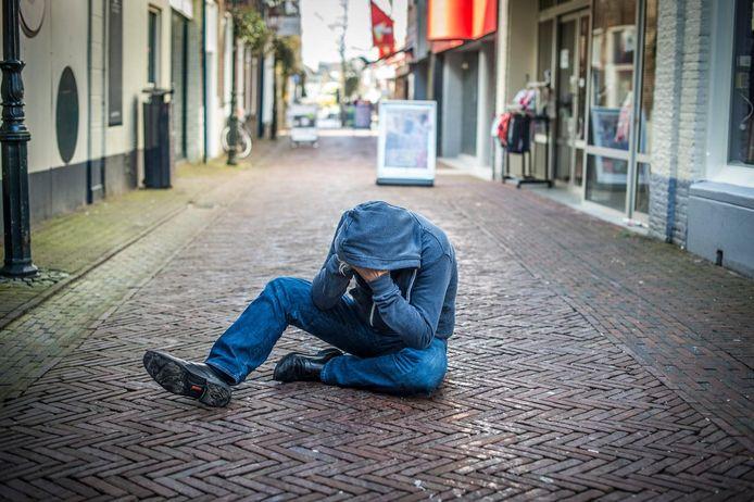 In Zutphen zijn relatief veel meldingen over verwarde personen. Foto ter illustratie.