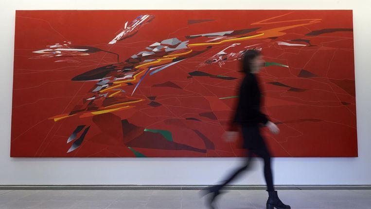 Archieffoto: werk van Zaha Hadid in Londen vorig jaar. Beeld epa