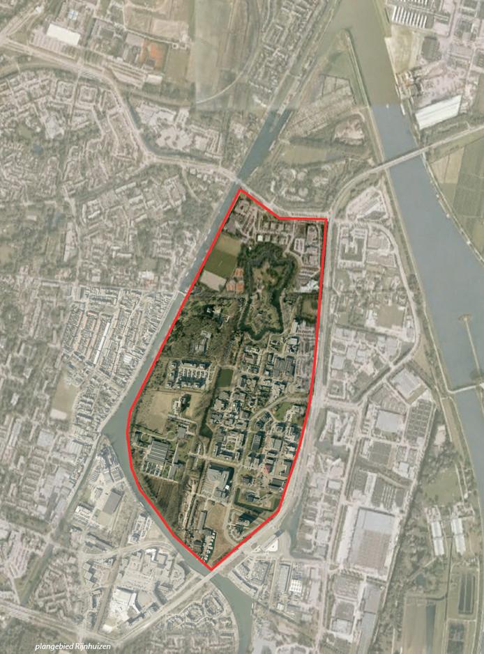 Luchtfoto van Rijnhuizen