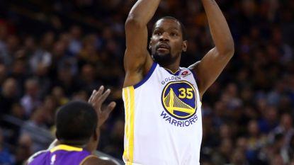 Warriors winnen zonder rist sterspelers van Lakers