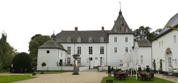 Het kasteel van de failliet gegane zorginstelling Virenze in Gronsveld.