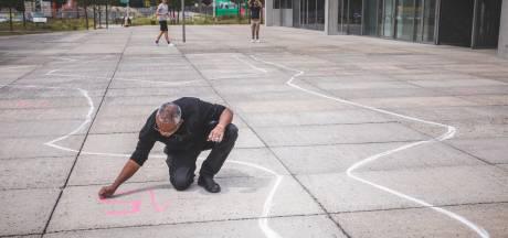 """Gentenaars starten petitie om GAS-boete kunstenaar Mohamed Shabini te betalen: """"Hij bracht de dood van George Floyd onder de aandacht"""""""