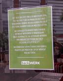 backWERK mag in Arnhem nog geen broodjes verkopen.