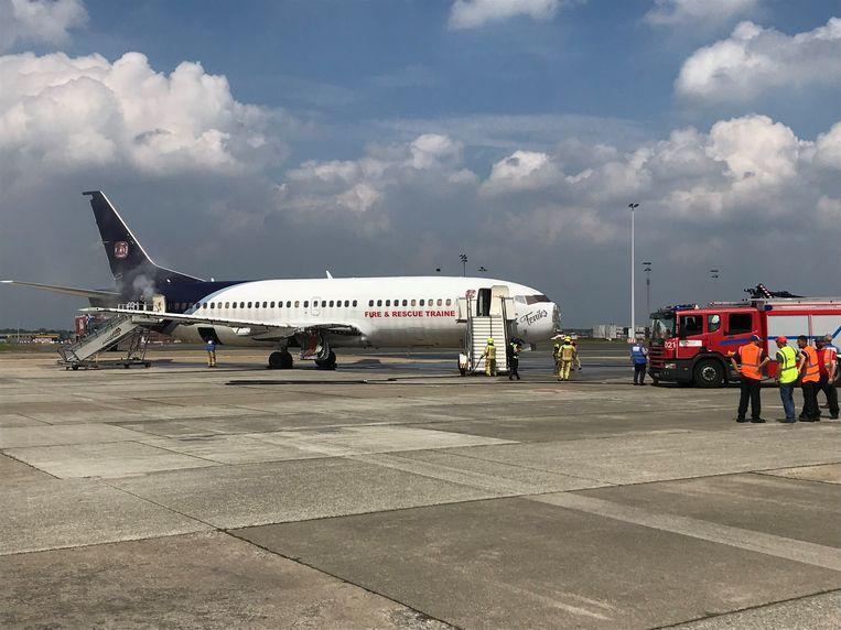Op de luchthaven Brussels Airport is om 14 uur de tweejaarlijkse grote rampoefening van start gegaan.