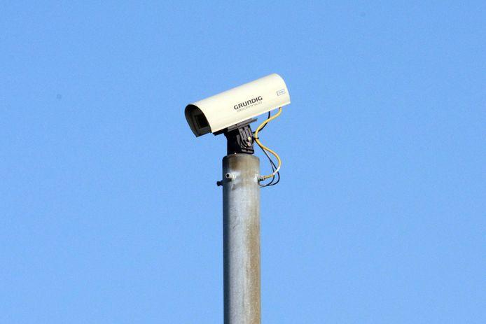 IPTCBron  camerastock  beveiligingscamera voor kerstbal