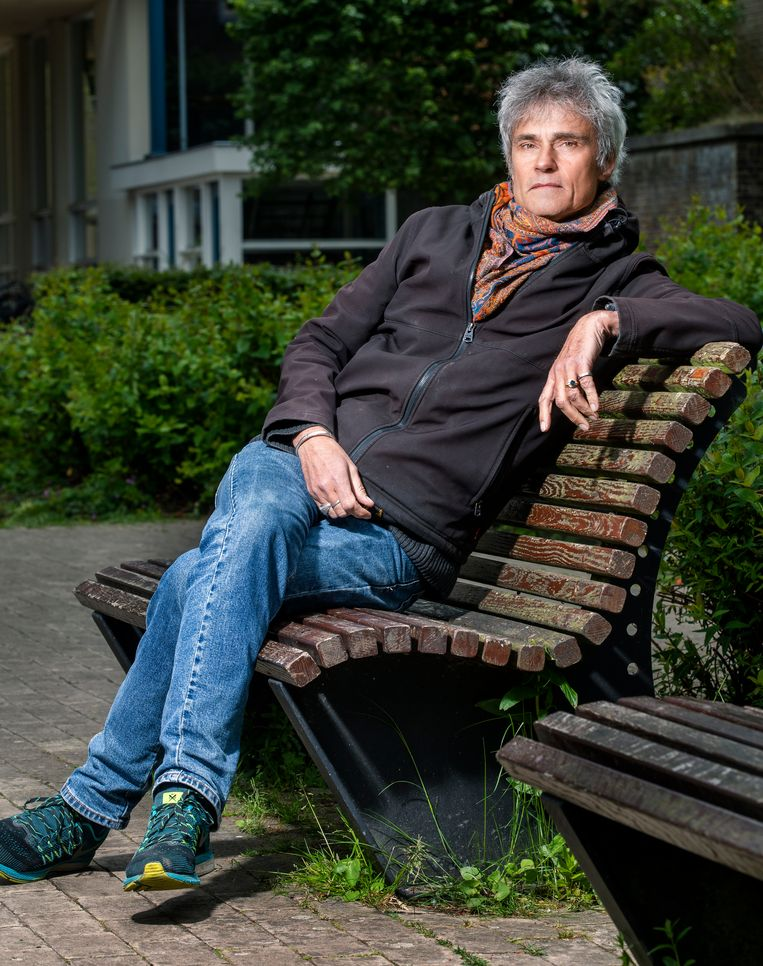 Traumapsycholoog Kaz de Jong: 'Toen ik bij het AMC binnenkwam,  wist ik dat ik kon helpen.' Beeld Marco Okhuizen
