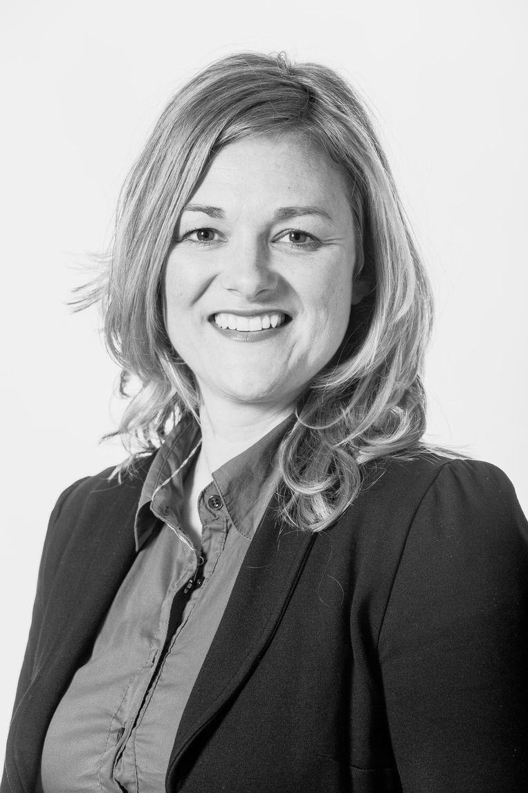 Carolien de Heer, raadslid, nummer 4 op de kandidatenlijst van PvdA Amsterdam Beeld Rink Hof