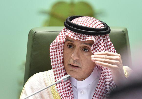 Saudisch minister van Buitenlandse Zaken Adel al-Jubeir.
