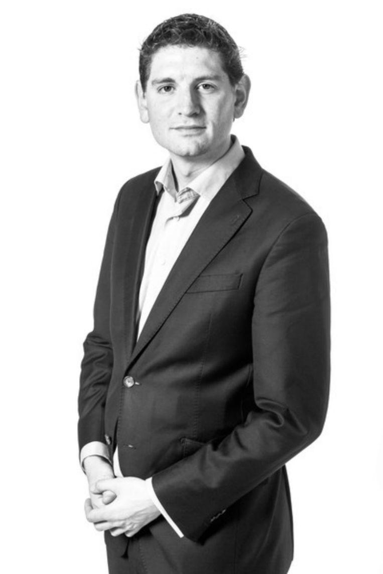 Jan Paternotte, fractievoorzitter van D66 in de gemeenteraad van Amsterdam Beeld Rink Hof