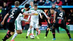 Hazard en Gladbach winnen gevleid van Leverkusen, invaller Raman grote held van Fortuna Düsseldorf