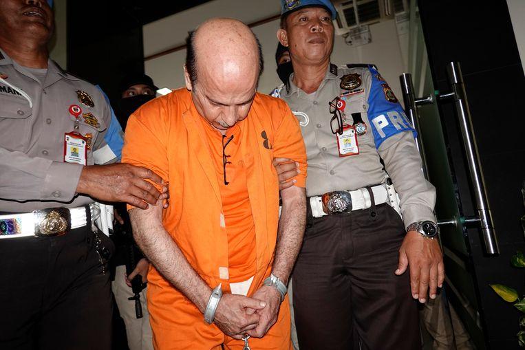 Husein Ashadi Bahri had 45 gram marihuana in het klavier van zijn computer  verstopt.
