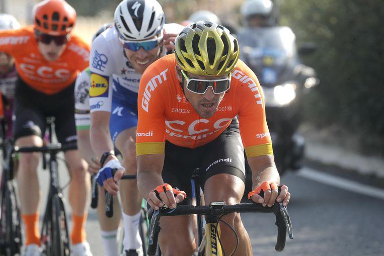 Altea - Spain - wielrennen - cycling - radsport - cyclisme - Greg Van Avermaet (Belgium / Team CCC)  pictured during stage 3 of the 71st Volta a la Comunitat Valenciana (2.Pro) from Calp to Altea (Sierra de Bernia) (170KM) - Photo: Luis Angel Gomez/Cor Vos © 2020 © Photo News  ! only BELGIUM !