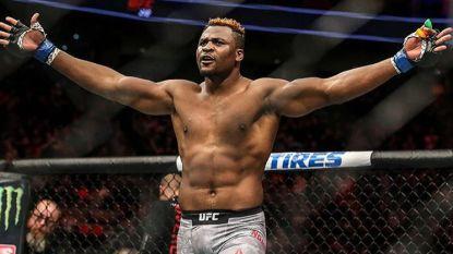 """Enkele jaren geleden nog een 'nobody' uit Kameroen, nu kan """"angstaanjagende reus"""" van 120 kg nieuwe koning van de UFC worden"""