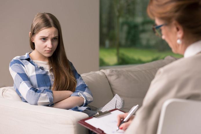 Een foto ter illustratie. Jongeren in psychische nood stuiten op lange wachtlijsten in de zorg.
