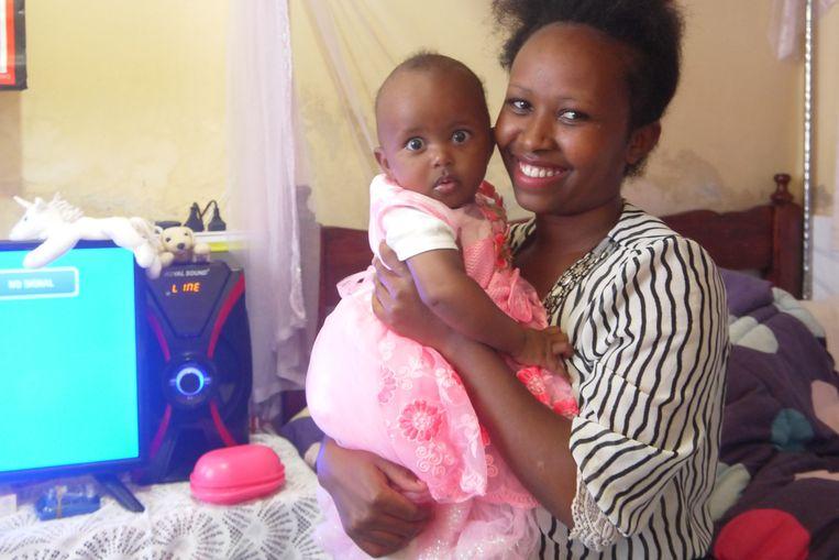 Elizabeth Nduku en Pendo Beeld Ilona Eveleens