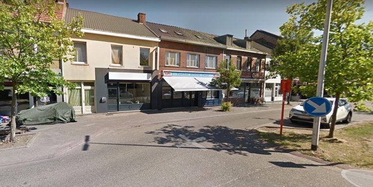 De feiten speelden zich in de Stationsstraat in Beringen af.