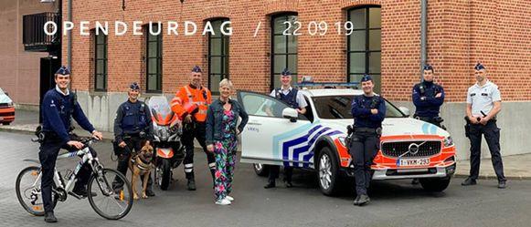 De Lokale Politie Voorkempen organiseert een opendeurdag op 22 september.