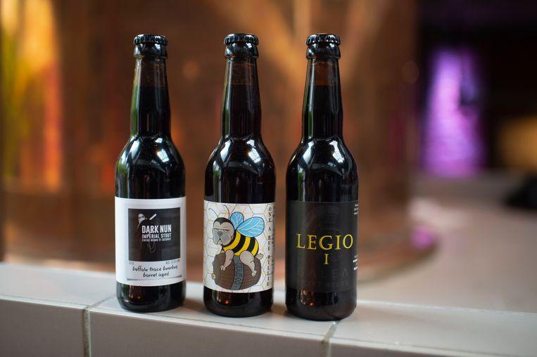 Nog drie nieuwe bieren van Galea Craft Beers: de Dark Nun, de Legio 1 en de Wannebee Billie.