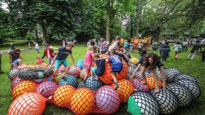 Gemeentepark net op tijd klaar voor WK-dorp