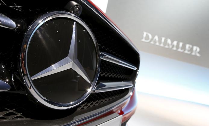 Het Mercedes-Benz logo