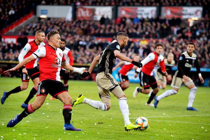 Feyenoord - Ajax op zondagavond 20.00 uur?