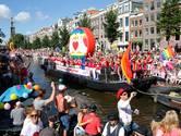 Aantal deelnemers Utrechtse Canal Pride 'boven verwachting'