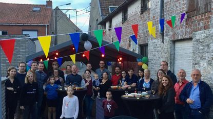 Buren komen samen in 'Straat zonder verkeer'