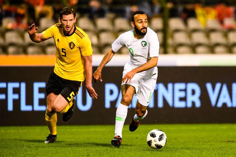 Mohammad Al-Sahlawi (rechts) is hét speerpunt bij de Saoedi's.