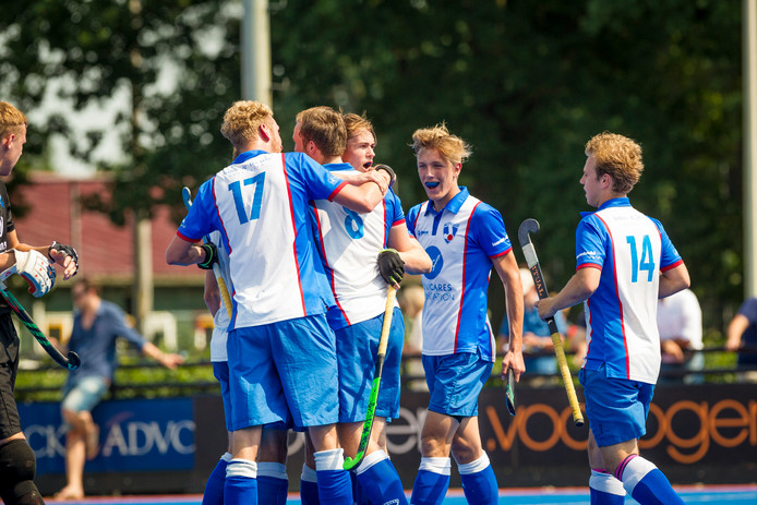 De mannen van HC Zwolle keren na de zomer terug in de overgangsklasse.
