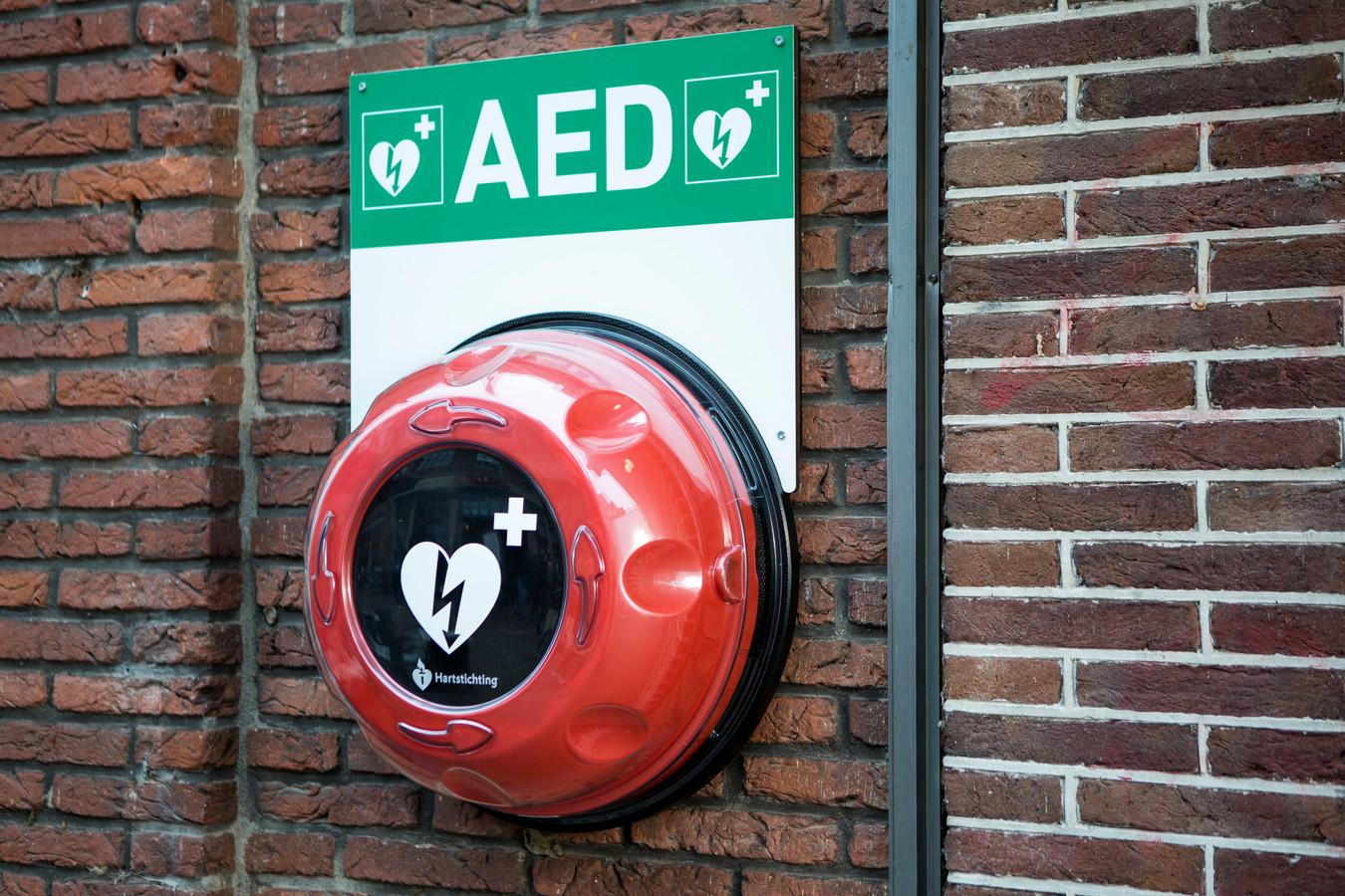 AED met buitenkast.