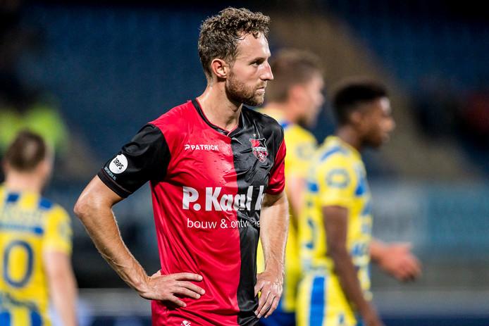 Archiefbeeld: Robin Janssen van De Treffers baalt.