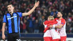 Europees avontuur van Club Brugge zit erop: blauw-zwart gaat de boot in bij Salzburg