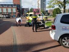 Scooterrijder gaat onderuit op Velperplein en raakt gewond