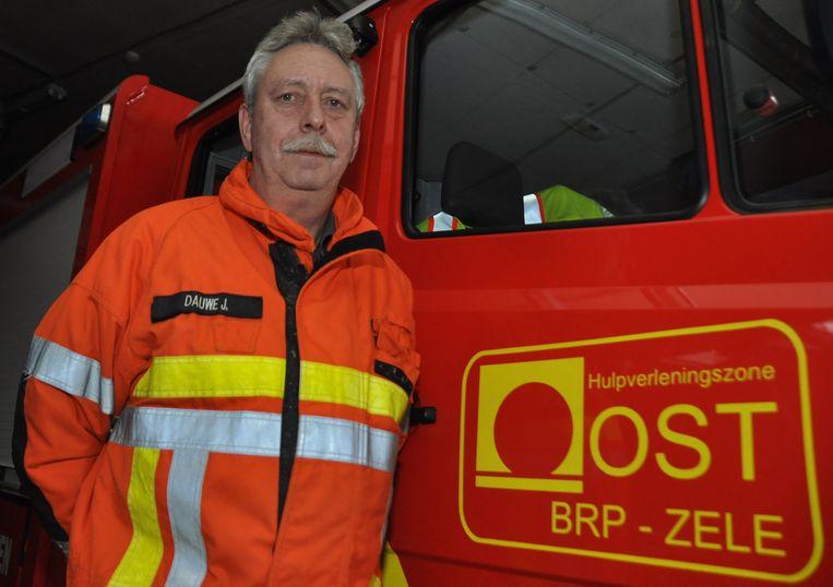 Zonecommandant Jos Dauwe van de Zone Oost Zele.