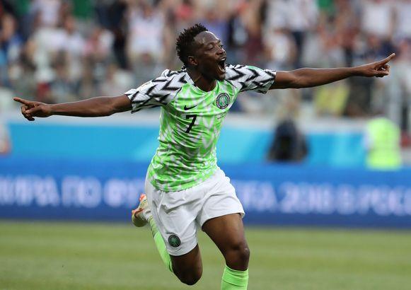 Ahmed Musa scoorde twee keer.