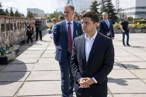 President Volodymyr Zelenskiy.