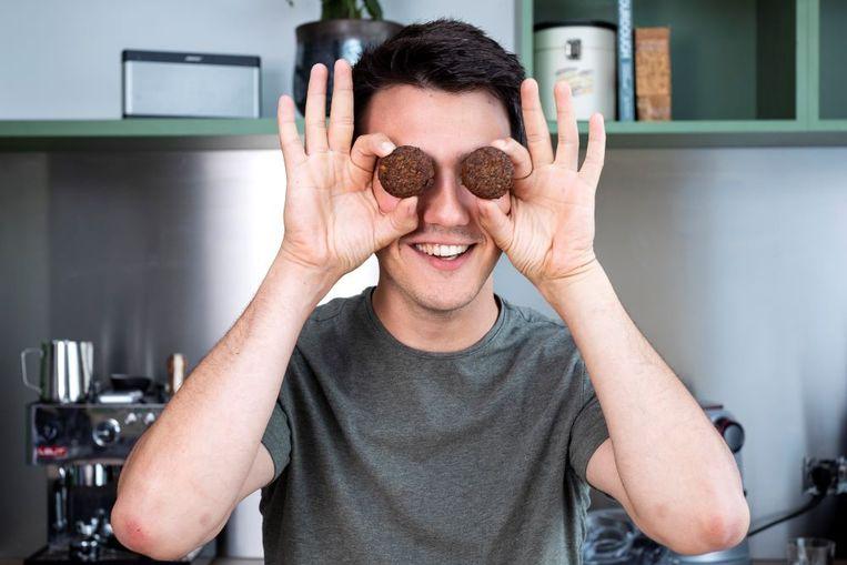 """Loïc: """"Zelf vergelijk ik falafel graag met een 'kroket': hierop zijn ook talloze variaties, van kaaskroket tot aardappelkroket, te vinden"""""""