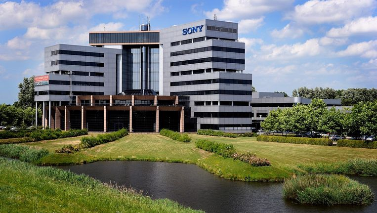 Het voormalige Europees hoofdkantoor van Sony in Badhoevedorp in 2010. Het complex is Inmiddels een hotel van Corendon Beeld anp